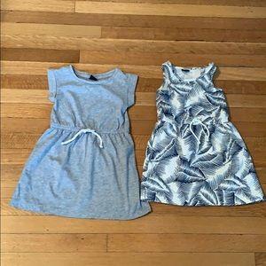 2 EUC 3T GAP dresses